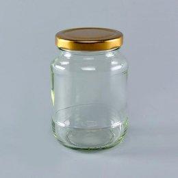 6411 ขวดแก้ว 12 OZ  ฝาสีทอง@4