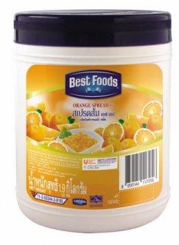 สเปรดส้ม Best Food 1.9 กก.