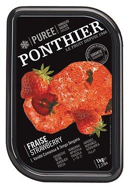Frozen Strawberry Puree ตรา Ponthier 1 kg
