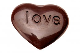 SN3069 Sanneng CHOCOLATE MOULD-HEART-SHAPED DIA: 280*98 mm