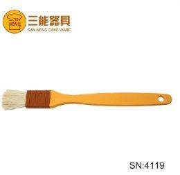 SN4119 Sanneng Wool Pastry Brush-Plastic Handle 25 mm(2 Pcs/set) DIA: 235*25*35 mm