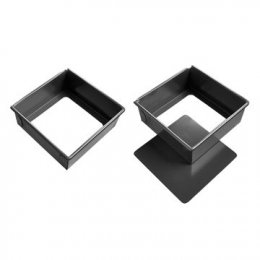 """SN5125 Sanneng 12"""" Square-Removable Bottom DIA: 215*215*60 mm"""