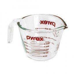ถ้วยตวงแก้วนอกไซร์ Pyrex 8 oz