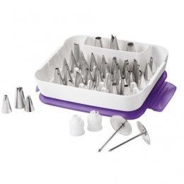 2104-0240 Wilton Master Tip Set 55 Pcs