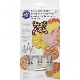 2104-1365 Wilton 12PC COOKIE DECORATING