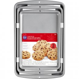2105-975 Wilton RR 3PC COOKIE PAN SET