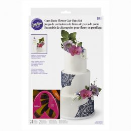 2109-7987 Wilton 28 PC GP FLOWER CUT OUT