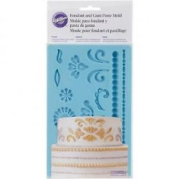 409-2529 Wilton FGP MOLD DAMASK