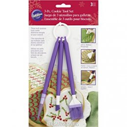 409-2532 Wilton 3PC COOKIE DECORATING TOOL