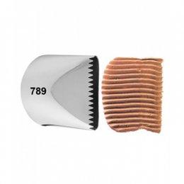 418-789 Wilton CARDED TIP 789 CAKE ICER
