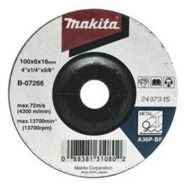 แผ่นเจียร์ 4X6 มิลหนาดำ A36B-07266(A80911)  MAKITA