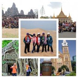 กัมพูชา+เวียดนามใต้ 7 วัน 6 คืน อรัญประเทศ –พระตะบอง -  พนมเปญ (กัมพูชา ) – โฮจิมินห์  - มุยเน่ -ดาหลัด – เสียมเรียบ -  ปอยเปต – อรัญประเทศ