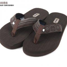 [[พร้อมส่ง 10.5]] [TS-017] TS ++รองเท้าแตะ++ รองเท้าแตะสายคาดสีเทา