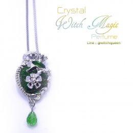Crystal Witch Magic Perfume สีเขียว