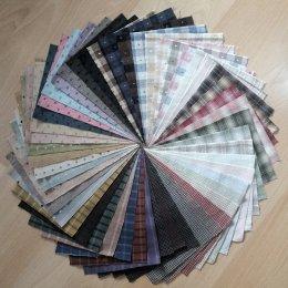 ผ้าทอจัดเซท 50 ชิ้น No.1 ขนาด 12.5 x 17.5 cm.