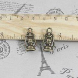 ตัวห้อยซิป ตะเกียง ขนาด 2 x 1 cm.