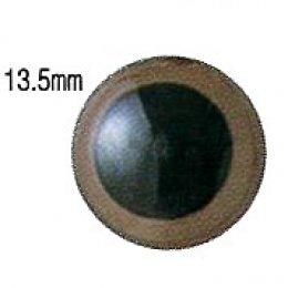 ตาตุ๊กตา สีน้ำตาล ขนาด 13.5 มม. ราคา/คู่