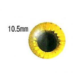 ตาตุ๊กตา สีเหลือง ขนาด 10.5 มม. ราคา/คู่