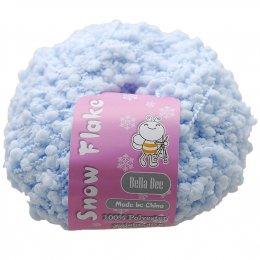 ไหมนำเข้า Snow Flaker สีฟ้า