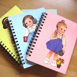 **Sales 50%**สมุดโน๊ต Paper doll mate ขนาด 15.2*21.8 cm.
