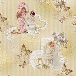ผ้า Cotton พิมพ์พิเศษ ขนาด 43 * 70 cm.