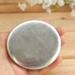 อลูมิเนียมสำหรับทำ macaron coin purse ขนาด 7.5 cm. 2 คู่/แพ็ค