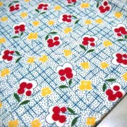 ผ้า Moda ลายดอก ขนาด 1/4 หลา (45*55 ซม.)