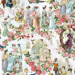 ผ้า cotton สั่งพิมพ์พิเศษ (ผ้าจริงสีจะซีดกว่าภาพนะคะ) ขนาด 1/4 หลา 45 x 70 cm.