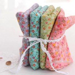 ผ้า cotton เกาหลี เซท 4 ชิ้น27.5 x 45 cm.