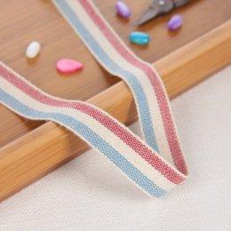 เทปผ้า Cotton linen  โทนแดง ขนาด 20 mm.หลาละ