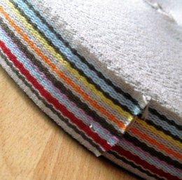 สายกระเป๋า cotton เส้นใหญ่ กว้าง 3.8 cm. ราคาหลาละ (90 cm.)