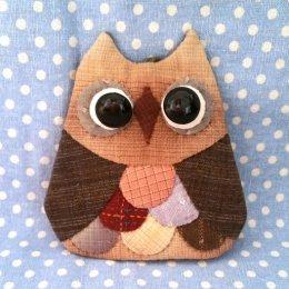Key Cover นกฮูกแบบสำเร็จ ขนาด 11 x 11 cm.