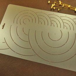 เทมเพลทสำหรับ Quilt แบบใส ขนาดทั้งแผ่น 34 x 20 cm.