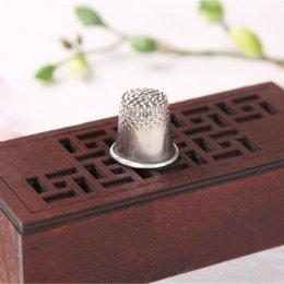 ปลอกนิ้วเหล็ก ขนาดเส้นผ่านศูนย์กลาง 16 mm. สำหรับขนาดรอบนิ้ว 5.5 cm.