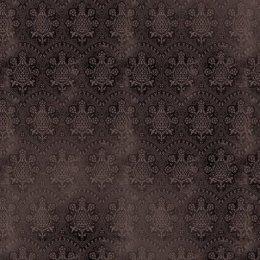 ผ้าอเมริกาลายดอกโทนดำ สำหรับ mat ผ้าน้องผมดำ ขนาด 45 x 55 ซม.