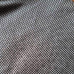 ผ้า cotton ไทย ลายสก๊อตตาเล็ก ฟ้าคราม  ขนาด 1/4 เมตร (50*55 ซม.)