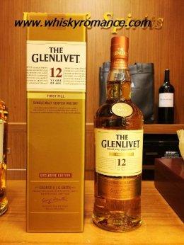 Glenlivet 12 Year Old First Fill 70cl