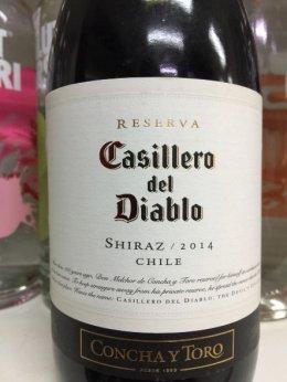 Casillero Del Diablo Reserva Shiraz 2014