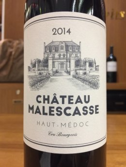 Chateau Malescasse Haut Medoc 2014