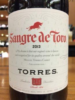 Torres  Sangre De Toro 2013