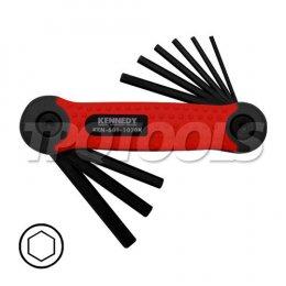 ชุดประแจหกเหลี่ยม KEN-601-1020K