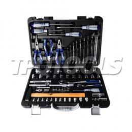 QEC01003 บล็อกชุดพร้อมเครื่องมือช่าง 82 ตัว/ชุด SQ.DR. 1/4-1/2 นิ้ว