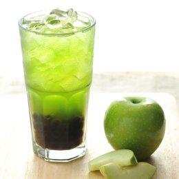 ชาเขียวแอปเปิ้ลไข่มุก