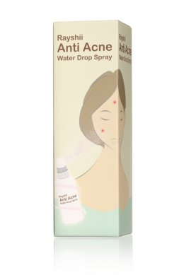 1 แถม 1 Rayshi Anti Acne water drop spray 80 ml