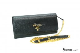 Prada 1BP290 Vitello Move Nero