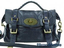 Mulberry Alexa Blue Regular - Used Authentic Bag  กระเป๋ามัลเบอรี่อะเล็กซ่า สีน้ำเงินม่วงอะไหล่สีทอง ของแท้มือสองสภาพดีค่ะ