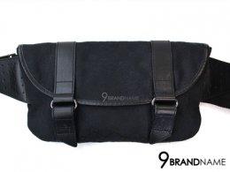 Gucci Belt Bag Black  กระเป๋าคาดอก คาดเอว กุซซี่ ผ้า สีดำ มีแถบหนังเท่ๆ ด้านข้าง ใบนี้ใช้งานสะดวก จุของได้เยอะ น้ำหนักเบาสุดๆค่า