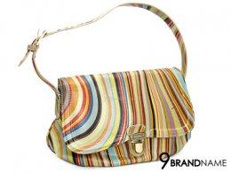 Paul Smith Shoulder Bag Swirl - Used Authentic Bag  กระเป๋า พอลสมิท สะพายไหล่  ลายออริจินัลของพอลสมิท สายปรับสั้นยาวได้ อะไหล่ทองสวย สะพายออกงานสวยค่ะใบนี้