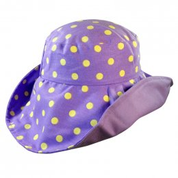 Polka Dotti Purple (Signature ATP Hat)