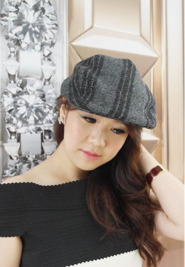 Classic Tweed Beret Cap (Vol.2)